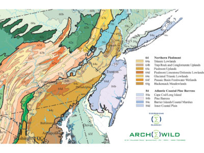 ArcheWild EcoRegion Level IV New Jersey