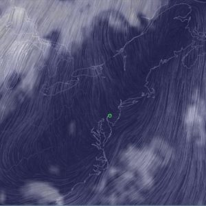 Current Northeastern US Wind Speed And Cloud Cover Lookup Tool