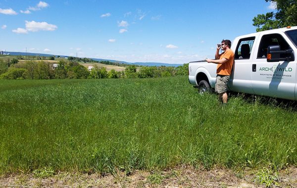 Cameron Surveying For An Agroforestry Implementation