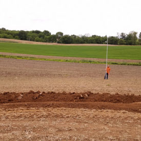 Setting Elevation For Contour Swale